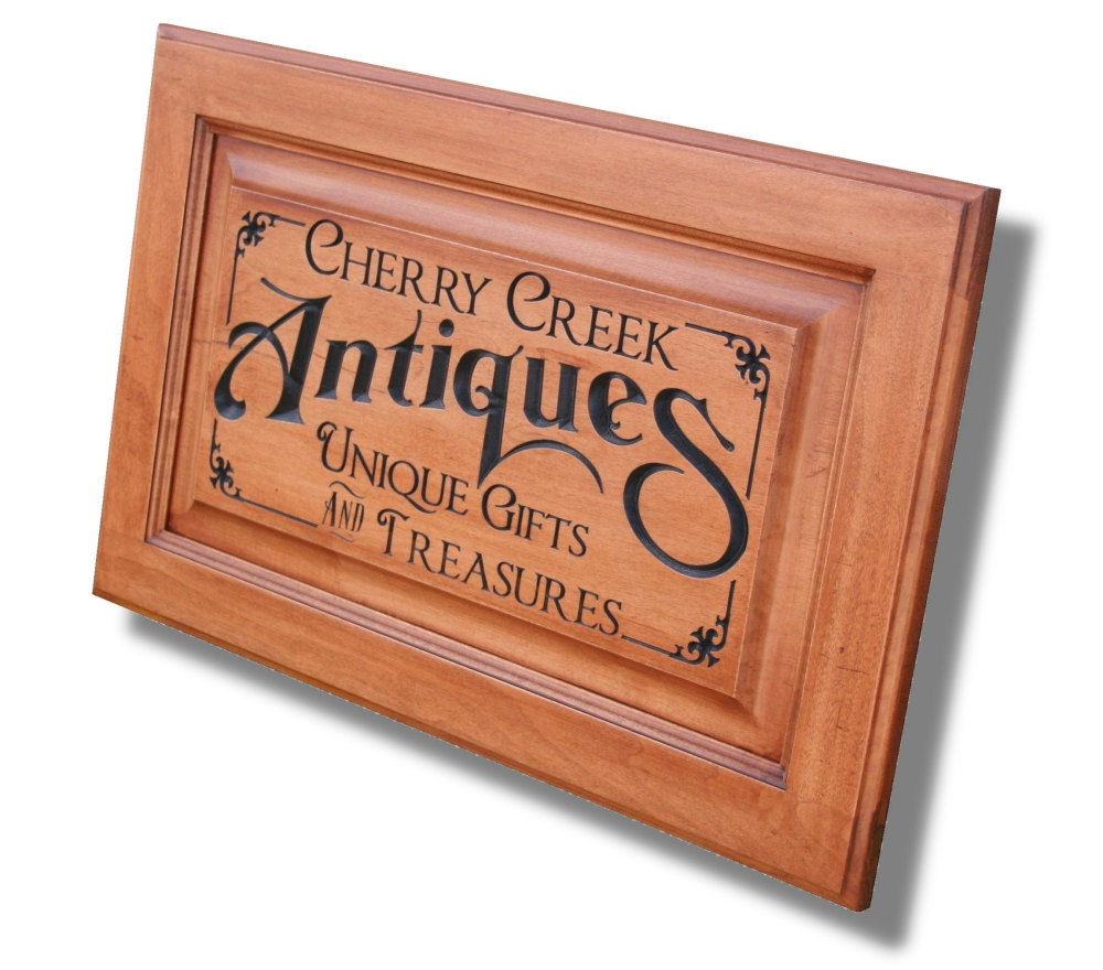 Business Sign Custom Sign Carved Wooden Sign Personalized