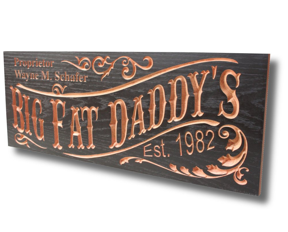 Man Caves Names : Business sign family name custom unique gift